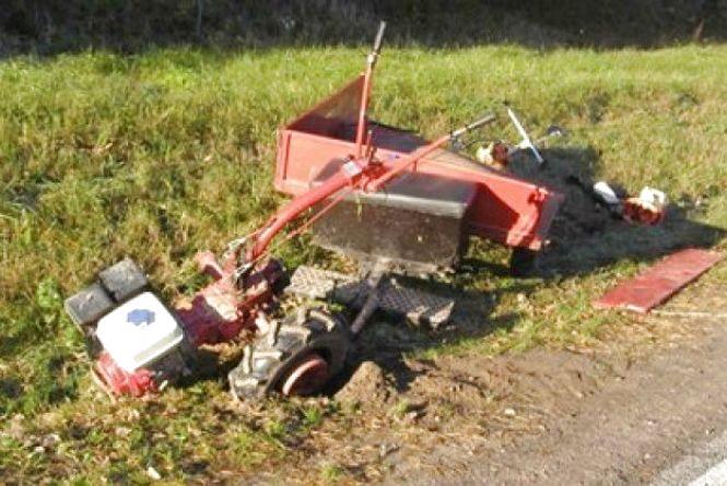 Нещасний випадок із смертельним фіналом: загинув 43-річний прикарпатець, який керував мотоблоком