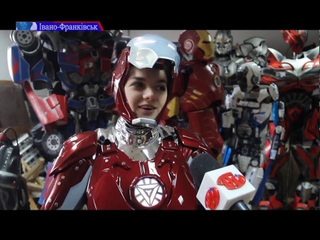 На Франківщині створюють костюми за мотивами фантастичних коміксів
