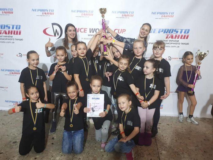 Юні франківські танцюристки перемогли на чемпіонаті України