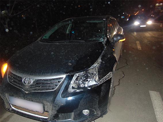 На Прикарпатті трапилося смертельне ДТП: водій наїхав на пішохода