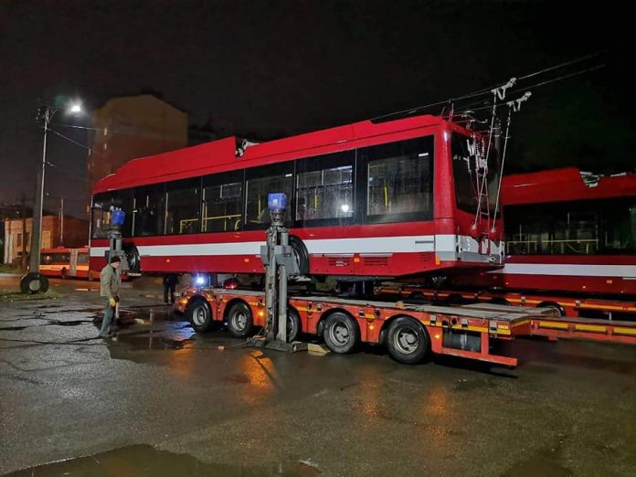 тролейбуси Івано-Франківськ