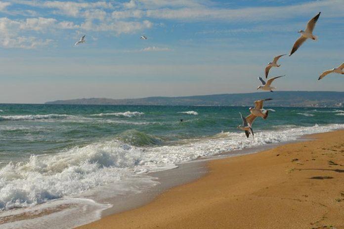 крим, пляж