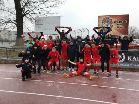 Калуська команда здобула перемогу у останній грі сезону