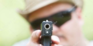 стріляє тварин
