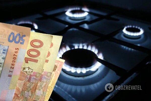 газ, ціна