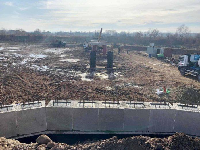 На Калущині продовжують відновлювати об'єкти, пошкоджені травневим паводком