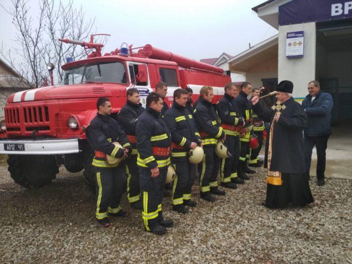 На сторожі від вогню: у Косівському районі відкрили добровільну пожежну команду