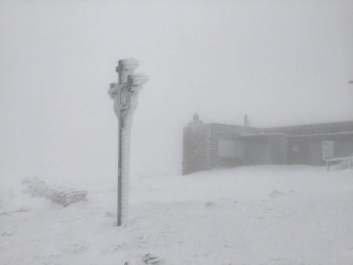 В Карпатах вже випало майже 20 сантиметрів снігу