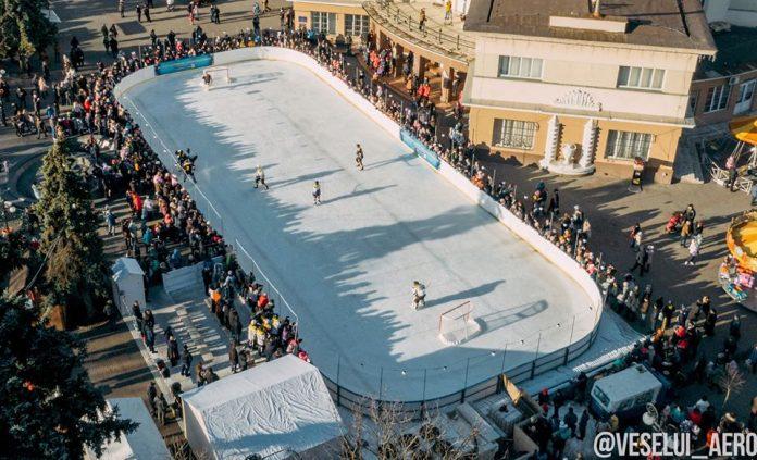 Як виглядає зимовий Івано-Франківськ із висоти пташиного польоту: фото