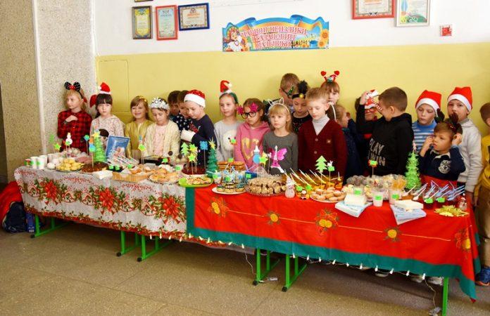 Франківські школярі провели благодійний зимовий ярмарок