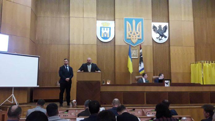 Василь Вірастюк презентував проект будівництва спорткомплексу в Івано-Франківську