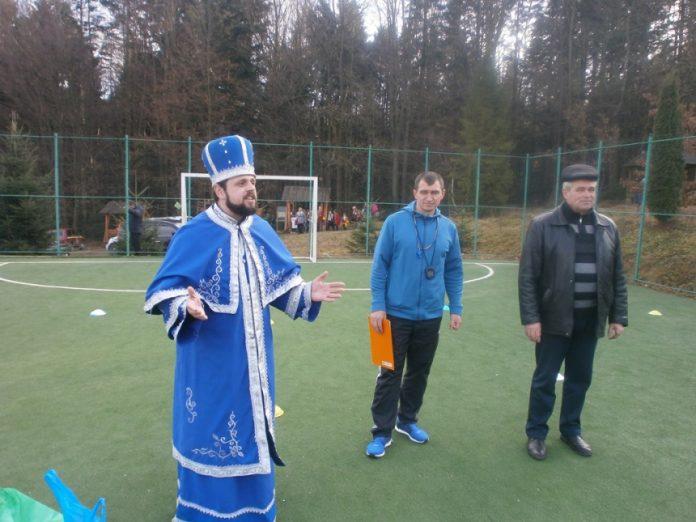 У маєтку Святого Миколая провели спортивні змагання для дітей