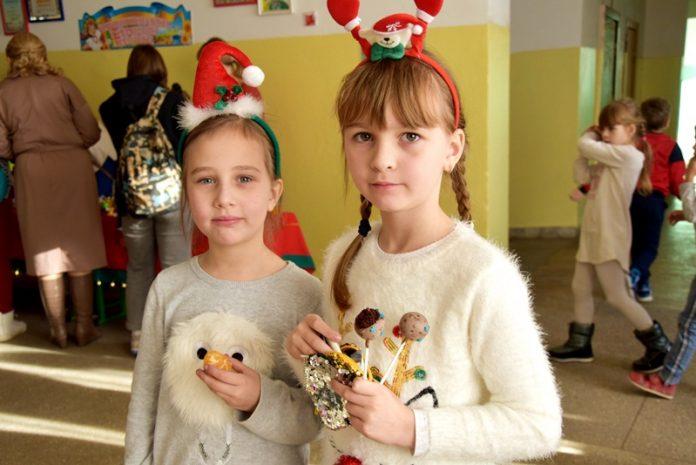 Франківські школярі провели  благодійний ярмарок