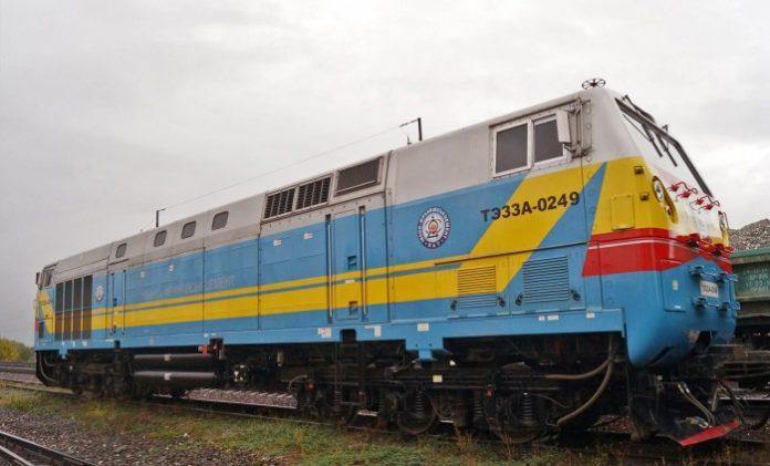 Франківська компанія хоче запустити залізницею перший в Україні приватний локомотив General Electric