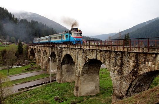 поїзд до Ворохти
