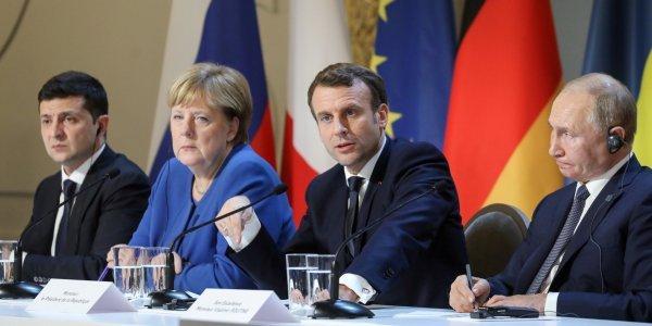 Про що домовилися Зеленський, Путін, Макрон та Меркель у Парижі