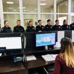 Прикарпатські поліцейські показали курсантам як працює служба «102»