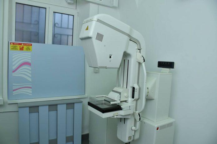 В Івано-Франківській ЦМКЛ відкрили мамограф