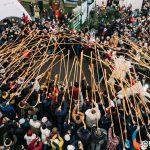 """Франківський фотограф виклав фото """"трембітарського"""" рекорду з висоти пташиного польоту"""
