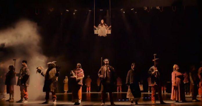 Франківський драмтеатр підготував феєричне різдвяне дійство