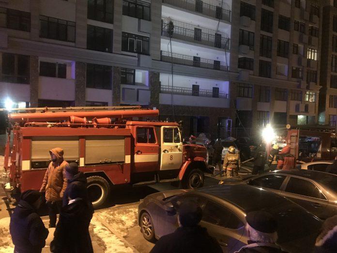 У Івано-Франківську трапилася пожежа в багатоповерхівці, власниця ледь не загинула