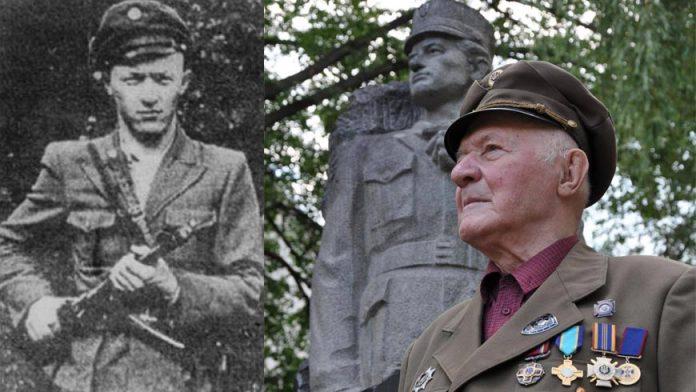 """Сьогодні свій 97-день народження святкує легендарний повстанський командир прикарпатець Мирослав Симчич """"Кривоніс"""""""