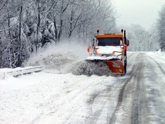 Попри снігопад, проїзд дорогами державного значення на Прикарпатті забезпечено - САД