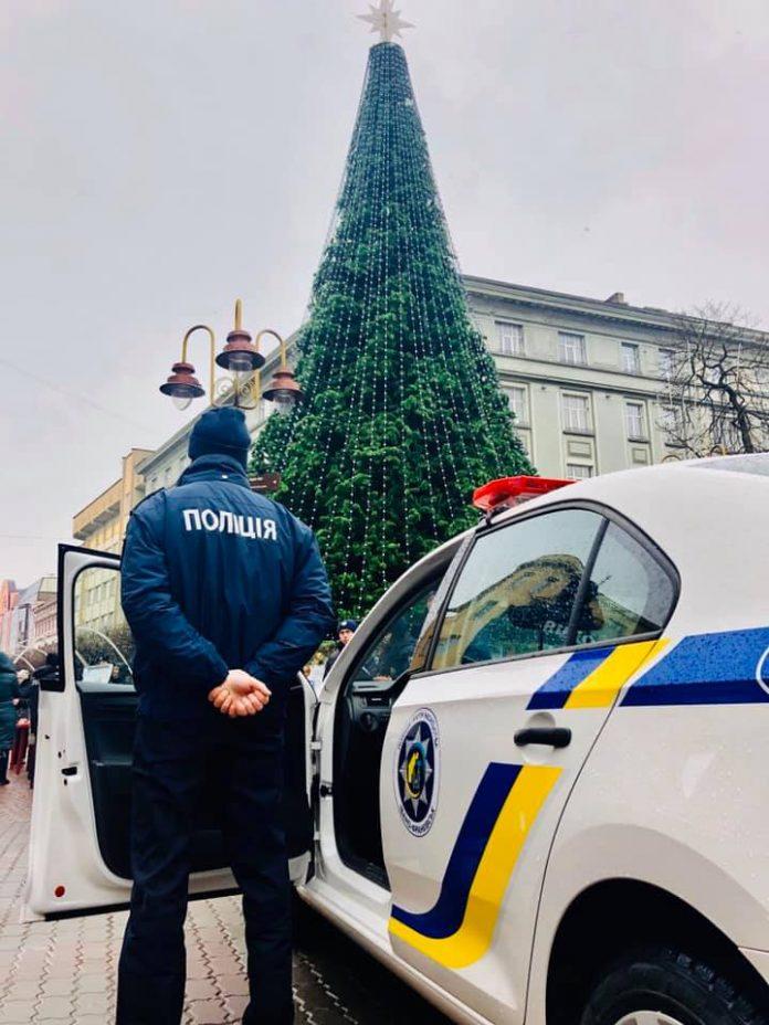 Франківщина зустріла Новий рік без суттєвих порушень публічного порядку