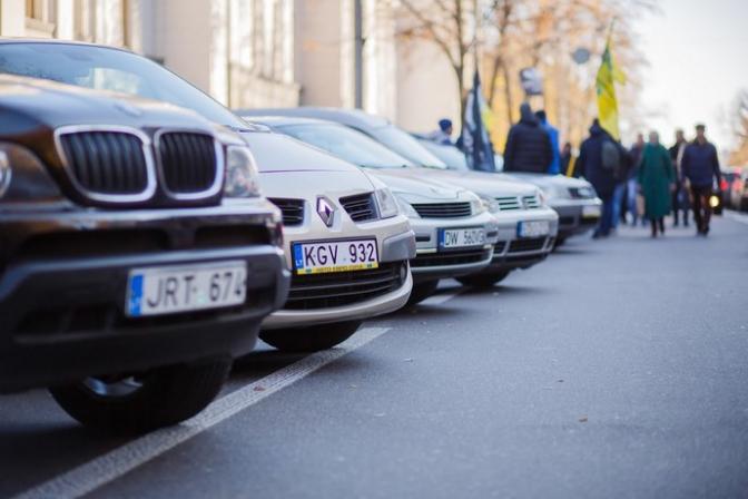 Івано-Франківськ увійшов до десятки міст, куди найбільше ввозять «євробляхи»
