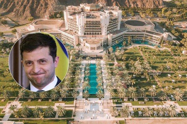Зеленський відпочиває не на Прикарпатті, а в Омані - ЗМІ