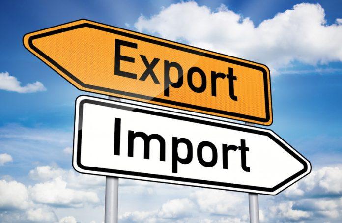 Прикарпаття зайняло 13 місце серед областей за обсягами експорту та імпорту товарів
