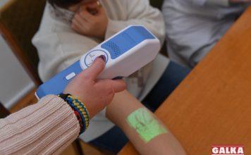 У відділення, де лікуються маленькі онкохворі прикарпатці, придбали новий медичний апарат веновізор