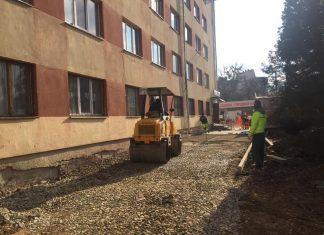В Івано-Франківську тривають роботи по з'єднанні двох Бульварів