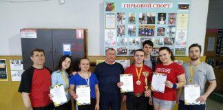 Франківські студенти вибороли перемогу на чемпіонаті України з гирьового спорту: фото