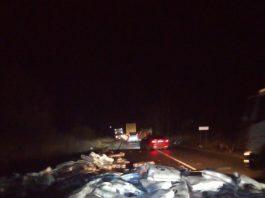 Фіра без світловідбиваючих знаків - стала відомою причина вчорашньої ДТП за участі двох фур у Рогатинському районі