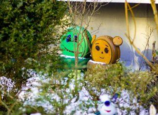 """Марцінків показав в мережі, як виглядає креативний дворик на """"Каскаді"""""""