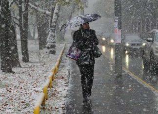 Жовтий півень небезпеки: Сьогодні Прикарпаття накриє дощем та мокрим снігом