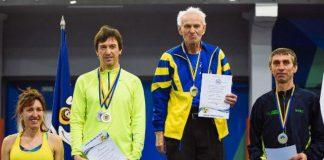 80-річний легкоатлет з Прикарпаття встановив три рекорди на чемпіонаті України