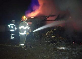 На Надвірнрнянщині пожежа завдала збитків майже 100 тисяч гривень