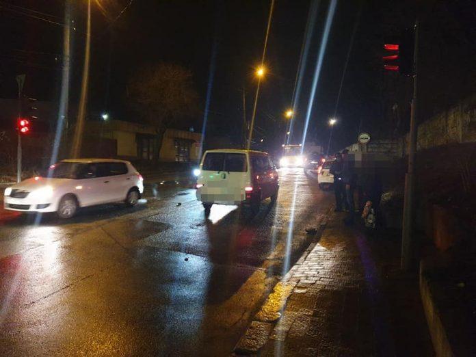 Франківські патрульні розшукали водія, який збив пішохода і втік з місця ДТП