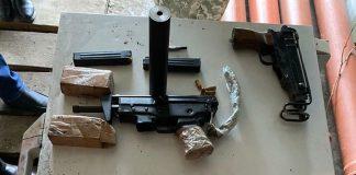 На Прикарпатті в організатора нарколабораторії знайшли зброю. Розпочато кримінальне провадження: фото
