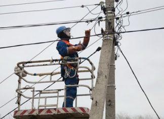 Через негоду у декількох селах Калущини перебої з електропостачанням
