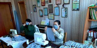 У Спаській ОТГ, що на Прикарпатті, мешканці намагаються самостійно забезпечитись засобами захисту від смертоносного вірусу