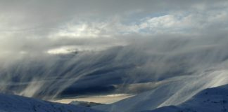 Прикарпатець виклав у мережу фото зимового шторму у високогір'ї Карпат