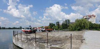 Бездонне озеро - на реконструкцію головної водойми міста планують витратити ще декілька мільйонів гривень