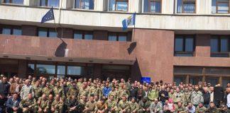 АТОвці з Івано-Франківська висловили жорстку позицію щодо Мінських домовленостей
