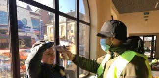 На Центральному ринку ведеться посилена дезінфекція та заходи по запобіганню поширення коронавірусу: фото