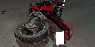 На Прикарпатті мало не загинув юний мотоцикліст