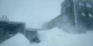 У високогір'ї Карпат - хуртовина, снігу намело більш як метр: відео