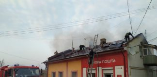 """Стали відомі подробиці пожежі відділення """"Нової пошти"""" у Городенці: фото"""